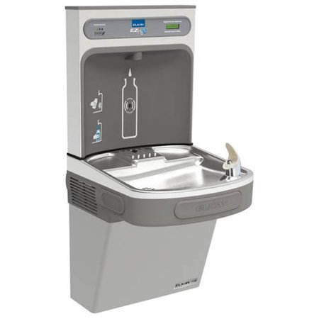 Elkay LZSG8WSLK Filtered EZH2O Bottle Filling Station with Single Green ADA Cooler