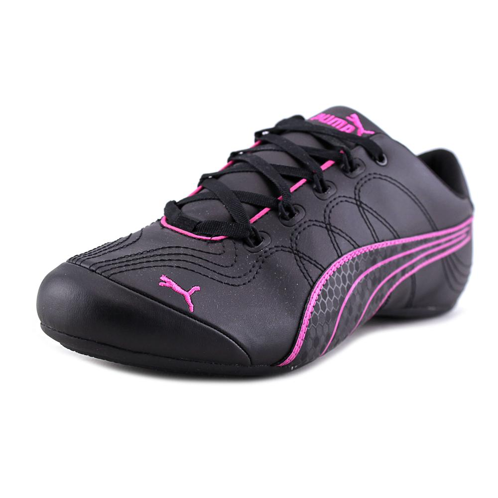 Puma Soleil v2  Women  Round Toe Synthetic Black Sneakers