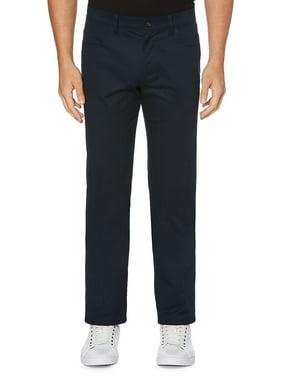 Regular-Fit Stretch Five-Pocket Sateen Pants