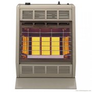 Empire Infrared Heater Liquid Propane 18000 BTU, Manual Control 3 Settings