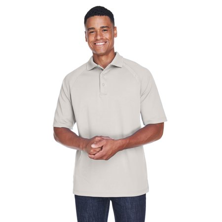 A Product of Ash City - Extreme Men's Eperformance™ Ottoman Textured Polo - FROST 856 - XL [Saving and Discount on bulk, Code - Party City Discount Code