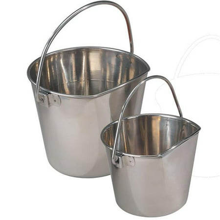 Flat Sided Pail (Stainless Steel Flat Sided Pail 32oz )