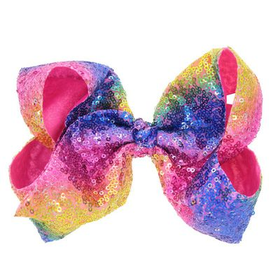 GIRLS DOUBLE BOW HAIR CLIP TO MATCH THE NEXT DINOSAUR PROM DRESS..