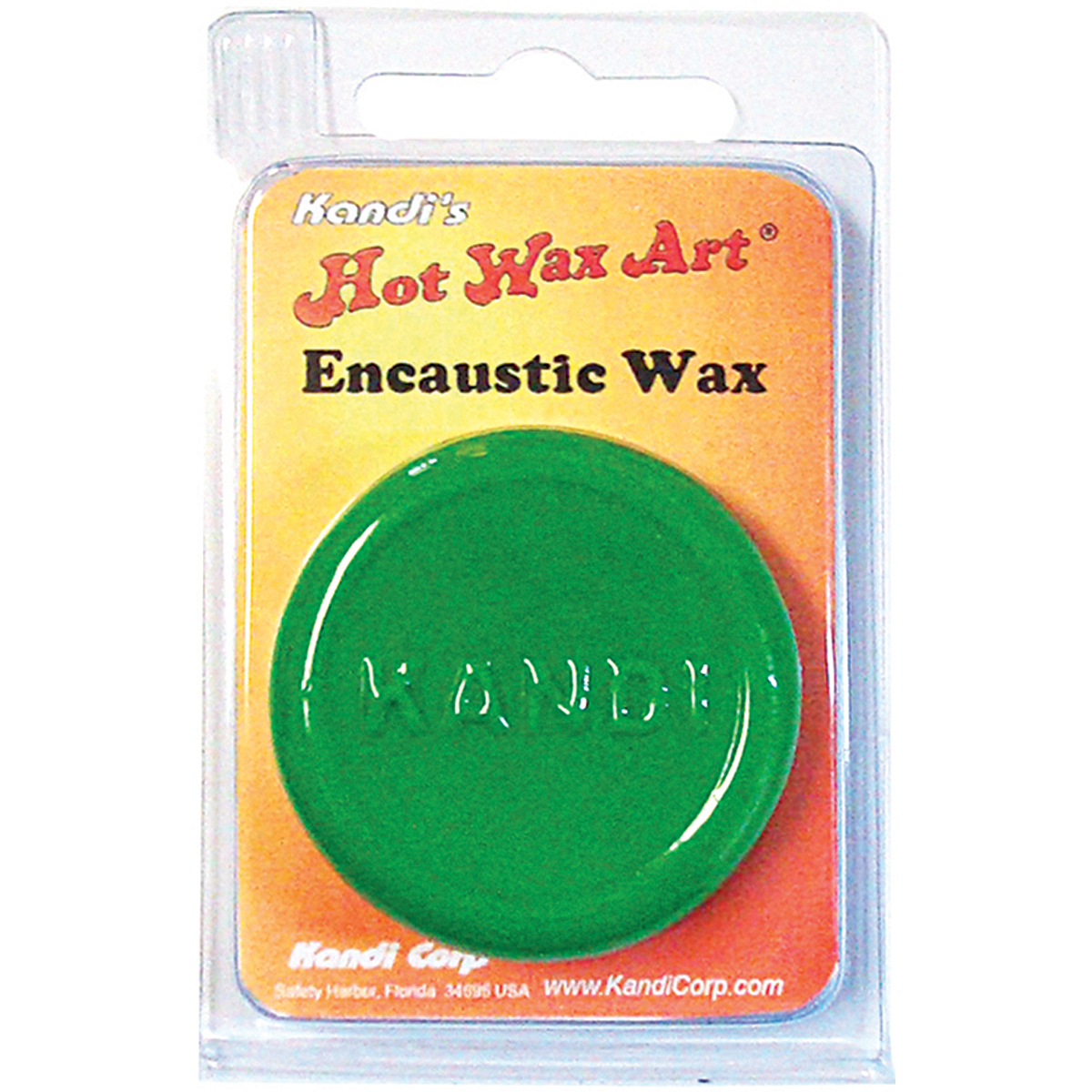 Hot Wax Art Pigment-Fern Green