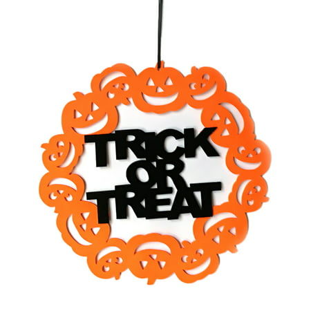 Indoor and Outdoor Happy Halloween Party Hanging Door Decor and Wall Sign Home Decoration Supplies](Do It Yourself Halloween Door Decorations)