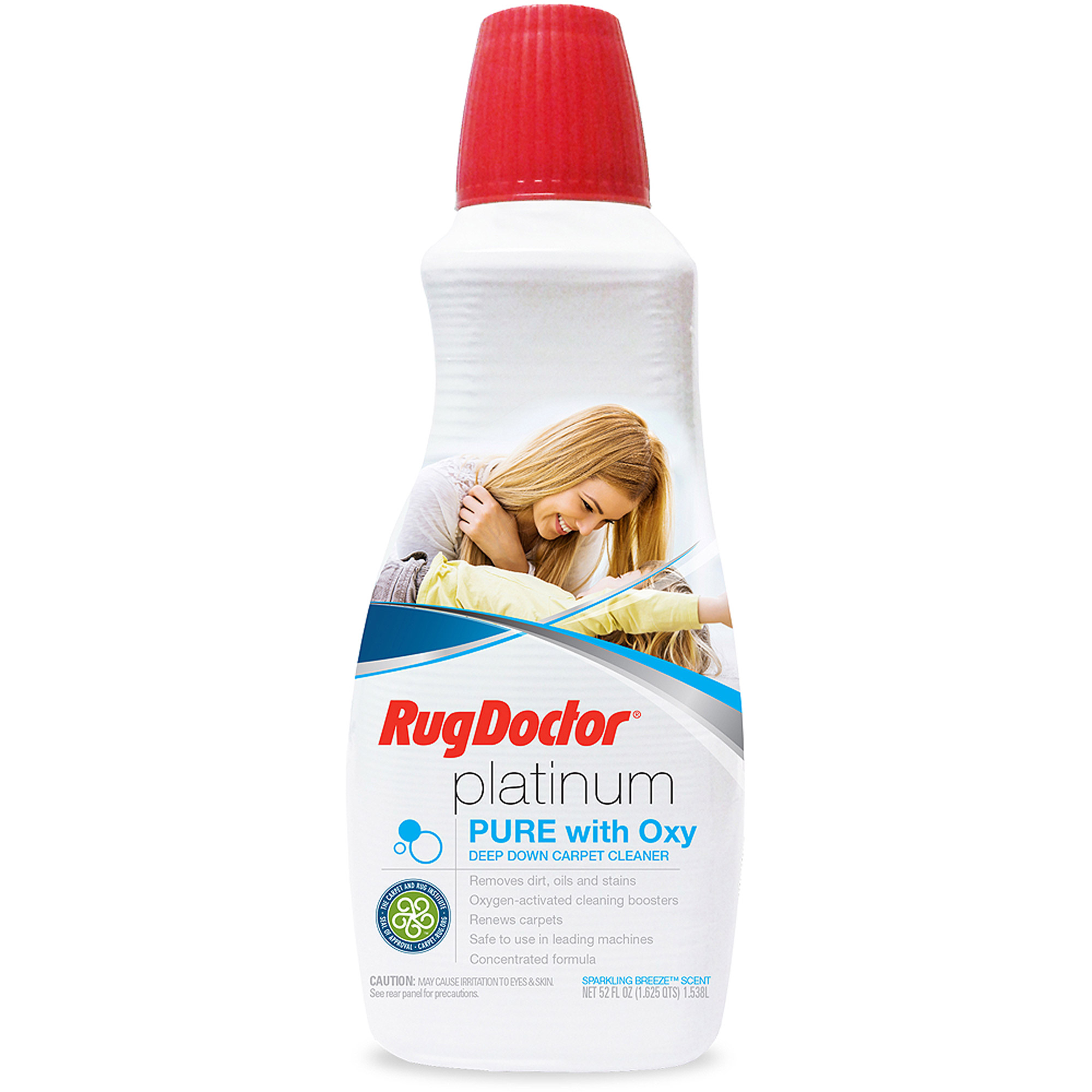 Rug Doctor Platinum Pure with Oxy Deep Down Carpet Cleaner, 52-oz bottle