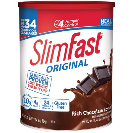 SlimFast ® Original Rich Chocolate Royale Meal Replacement Shake Mix 31.18 oz. Canister