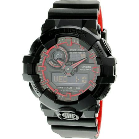 Men's G-Shock GA700SE-1A4 Black Resin Japanese Quartz Diving Watch (Japanese G Shock Watches)