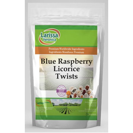 Blue Raspberry Licorice Twists (4 oz, ZIN: 525107)