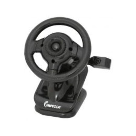 Impecca WC100K Wc100 Steering Wheel Webcam With Built-in Mic Black