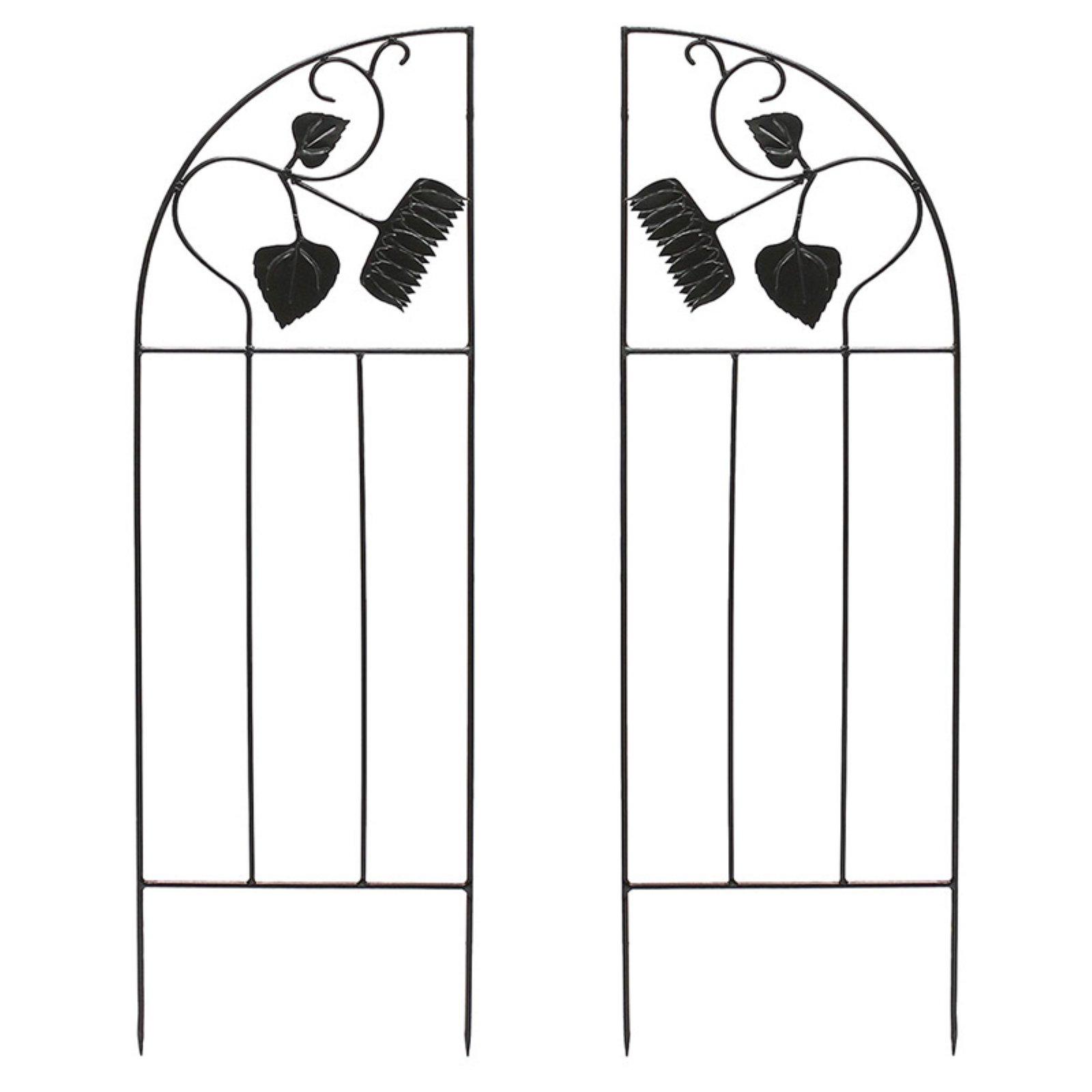 Achla Designs Sunflower Garden Trellis Side Panel Set of 2 by Minuteman/Achla Designs