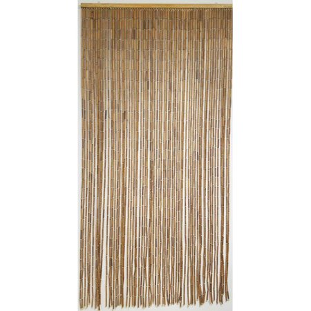 Evideco Doorway Beaded Sticks Wooden Single Curtain Panel](Beaded Curtains For Doorways)