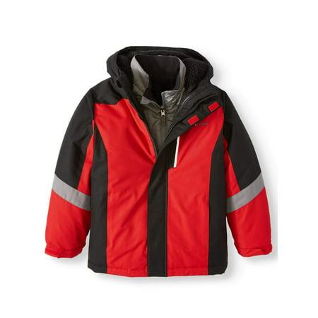 Swiss+Tech 4-in-1 Systems Jacket (Little Boys and Big Boys) (686 Boys Snowboard Jacket)