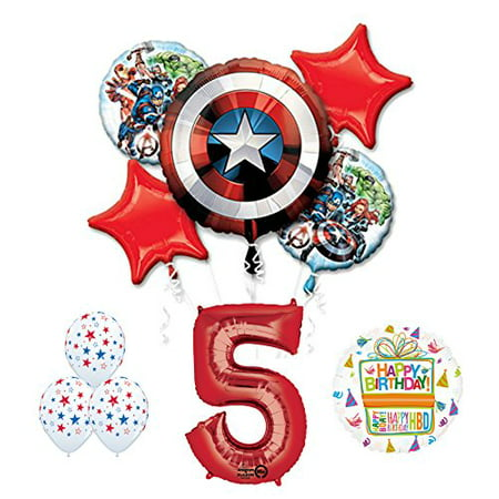 The Ultimate Avengers Super Hero 5th Birthday Party Supplies - Avengers Birthday Supplies
