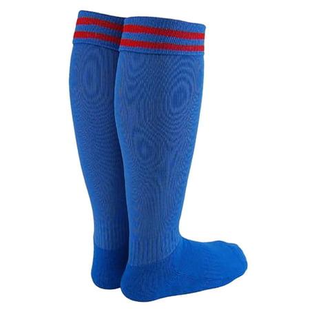 Lian LifeStyle Unisex Children 2 Pairs Knee Length Sports Socks for Soccer