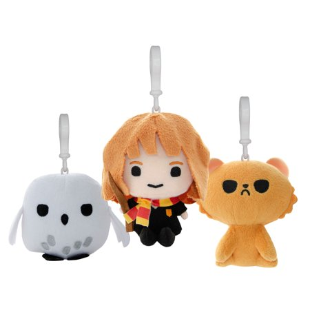 Harry Potter Wizarding World 4in. Plush Charms, 3 pc. Set - Harry Potter Hedwig Plush