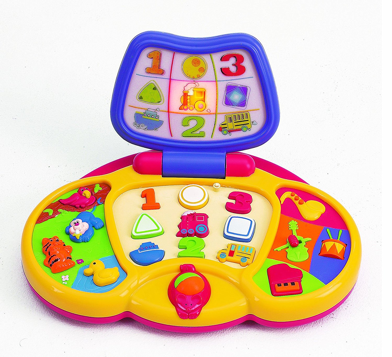 Preschool First Laptop B O, The Preschool Laptop from Small World Toys packs a lot of learning activities into... by