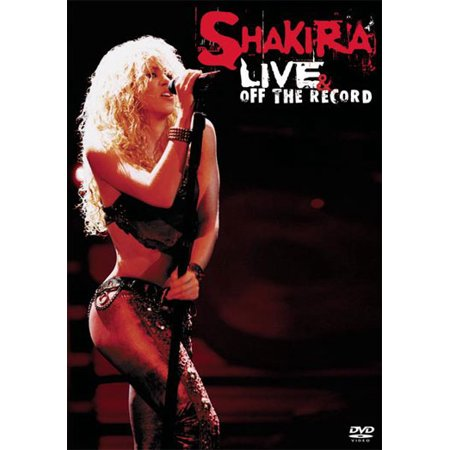 Shakira On Stage Off The Record  Dvd   Sony Music