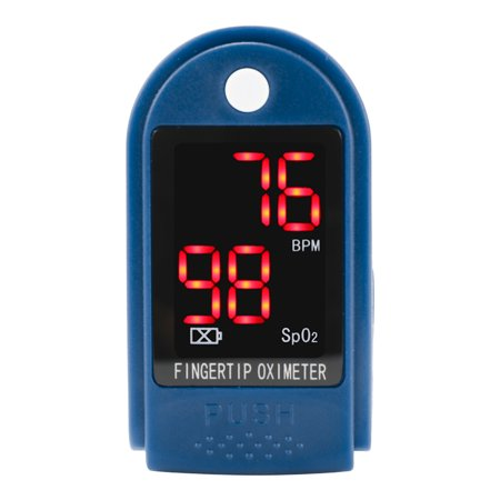 Finger Pulse Oxygen Saturation Monitor Blood Oximeter Blood Pressure Meter Oximetry Fitness Healthy