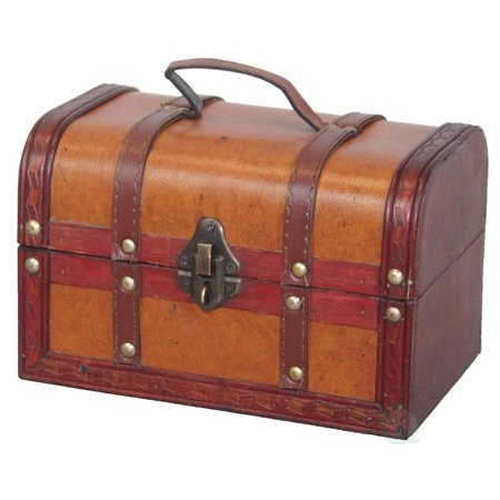 Friends Treasure Box (Decorative Leather Small Treasure Box)