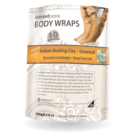 DIY Slimming Body Wraps: SPA Formula for Home Use: Seaweed, Healing Clay, Garcinio Cambogia, and Dead Sea (Best Epsom Salt For Athletes)