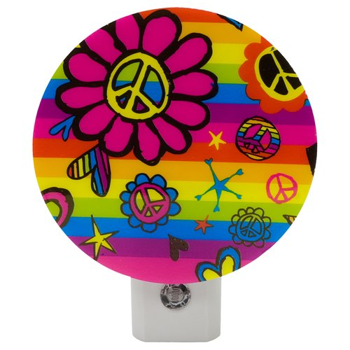 Jasco Peace Flower Auto On / Off Nightlight