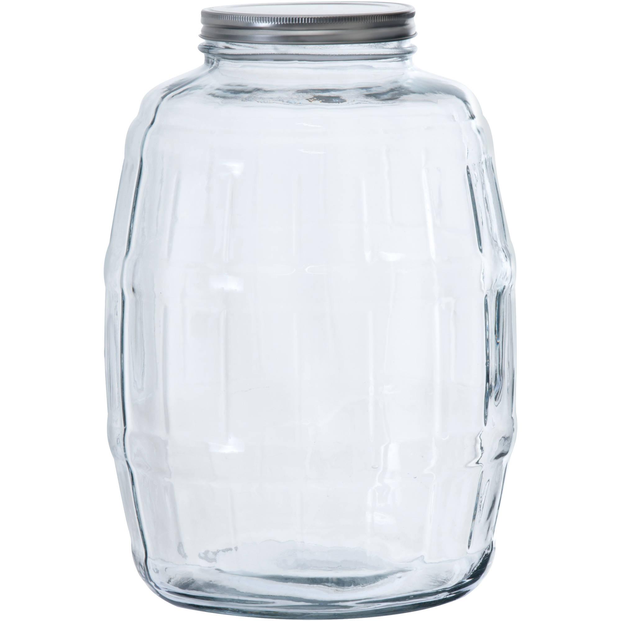 Anchor Hocking 2 5 Gallon Glass Barrel Jar Walmart Com