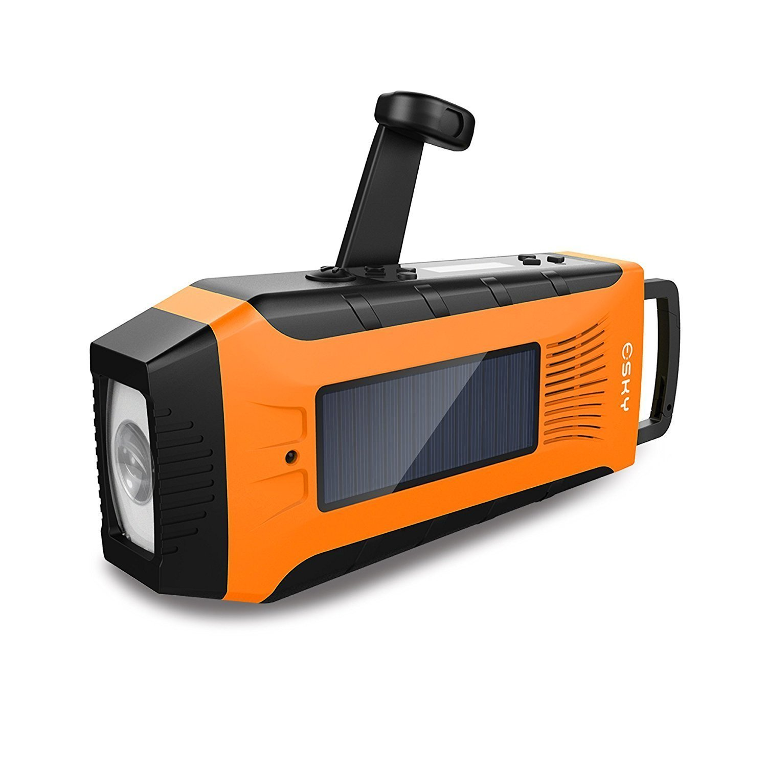 Emergency Radios, Esky Hand Crank Radio Weather Radios Solar Self Powered AM  FM  NOAA... by Esky