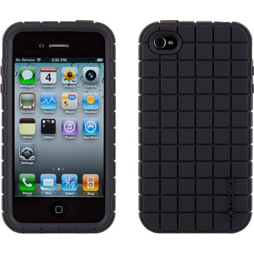 PixelSkin Case for iPod touch 4, Black