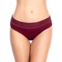 Charmo Women's Cotton Soft Underwear Stretch Hipster Assorted Solid Panties 4 Packs