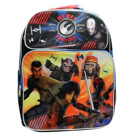 Backpack Star Wars Rebel Fighters 16 School Bag New 651510