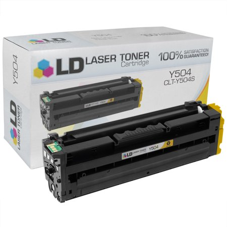 LD Products Compatible Replacement for Samsung CLT-Y504S Yellow Laser Toner Cartridge Q2682a Compatible Yellow Laser