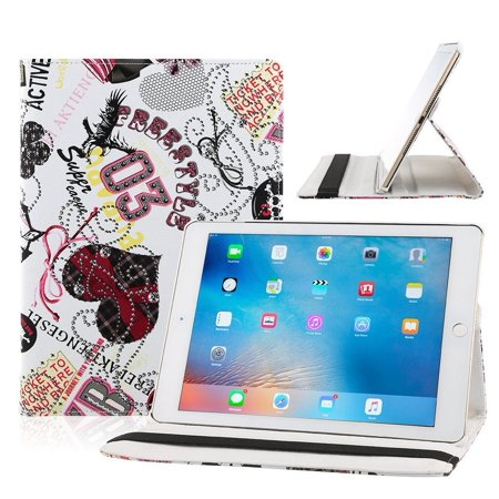 Auto Sleep Wake Function 360 Degree Rotating Smart Case Cover For Ipad Air   Ipad 10 With Free Stylus Blue Mulan  Designed For The New New Ipad    By Eleoption Usa