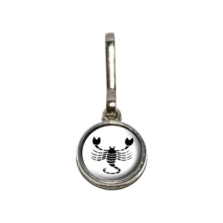 Scorpio The Scorpion Zodiac Horoscope Charm Zipper Pull