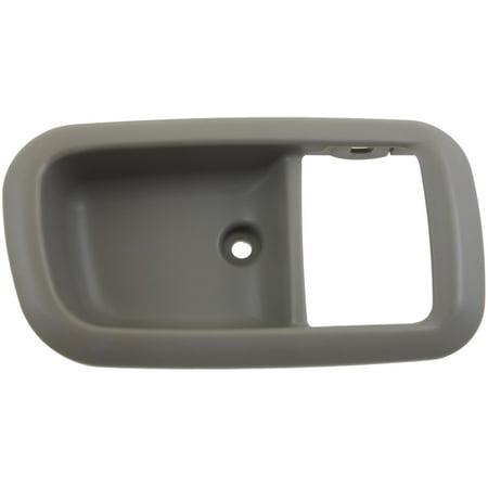 Interior Door Handle Rear Right Bezel Gray Charcoal 91362 Fits Toyota Tundra -