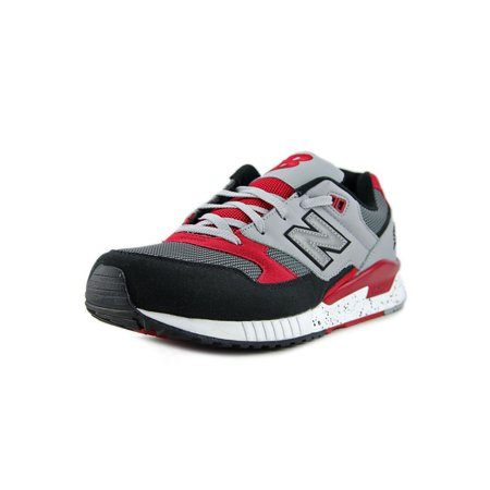 New Balance - New Balance Men s 530 Running Shoes M530PSB Grey Black Red -  Walmart.com a344ea3382