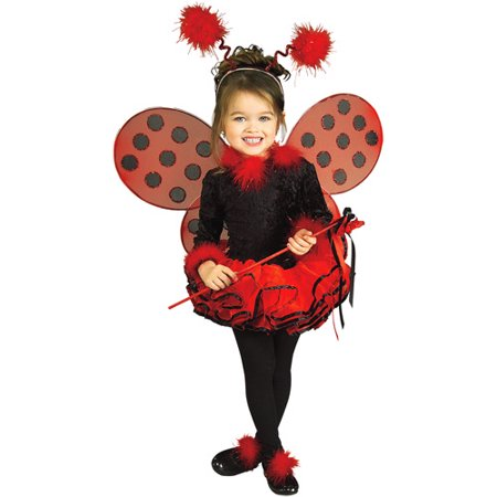 Lady Bug Toddler Halloween Costume Toddler (2-4t) (Easy Ladybug Costume)