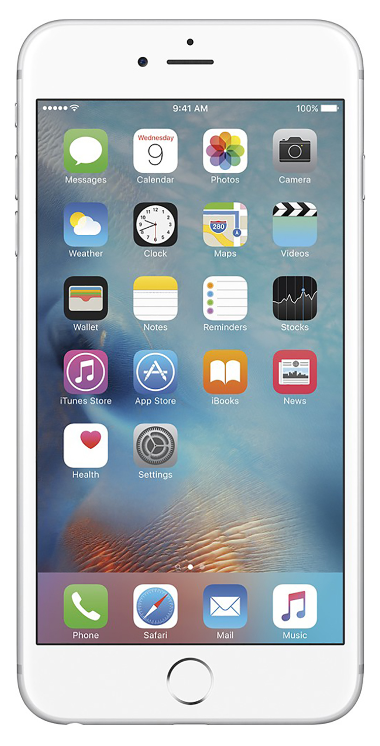 Apple iPhone 6s Plus 16GB Unlocked GSM 4G LTE 12MP Cell Phone Silver (Refurbished) by Apple