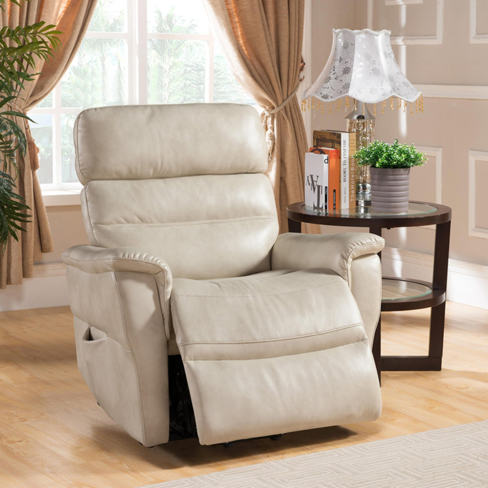 christies home living avery power reclining lift chair