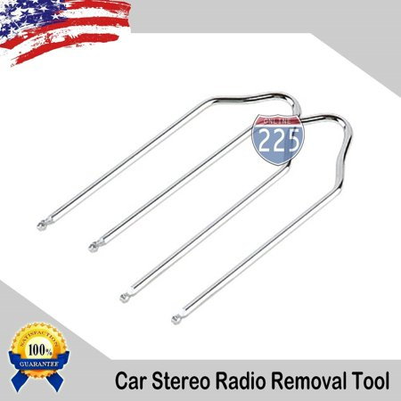 Car Stereo Radio Removal Tool Keys for FORD and LINCOLN Vehicles ()