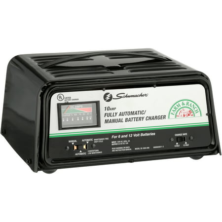 Schumacher Battery Charger Manual >> Schumacher Farm Ranch 10 Amp Fully Automatic Manual