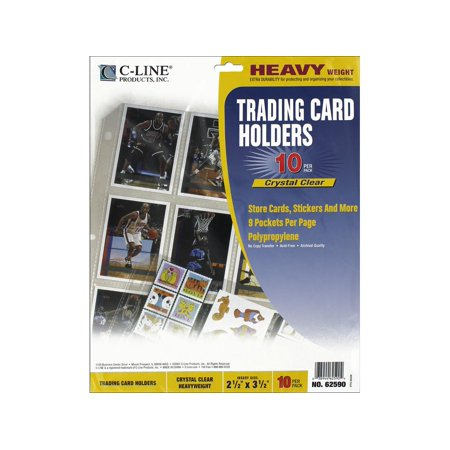 C-Line Trading Card Holder 9x11.5
