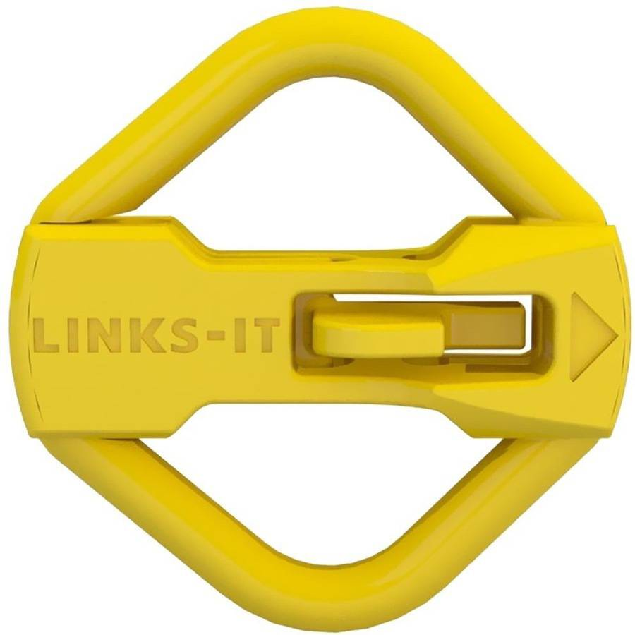LINKS-IT Pet ID Tag Connector, Yellow