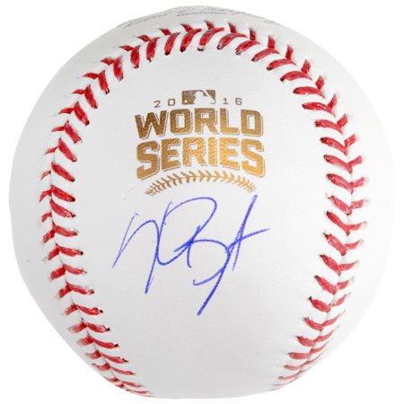 Kris Bryant Chicago Cubs Fanatics Authentic Autographed 2016 MLB World Series Baseball - No -