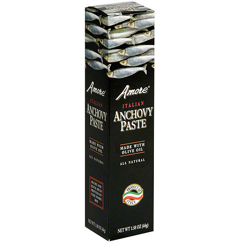 Amore Italian Anchovy Paste, 1.58 oz (Pack of 12)