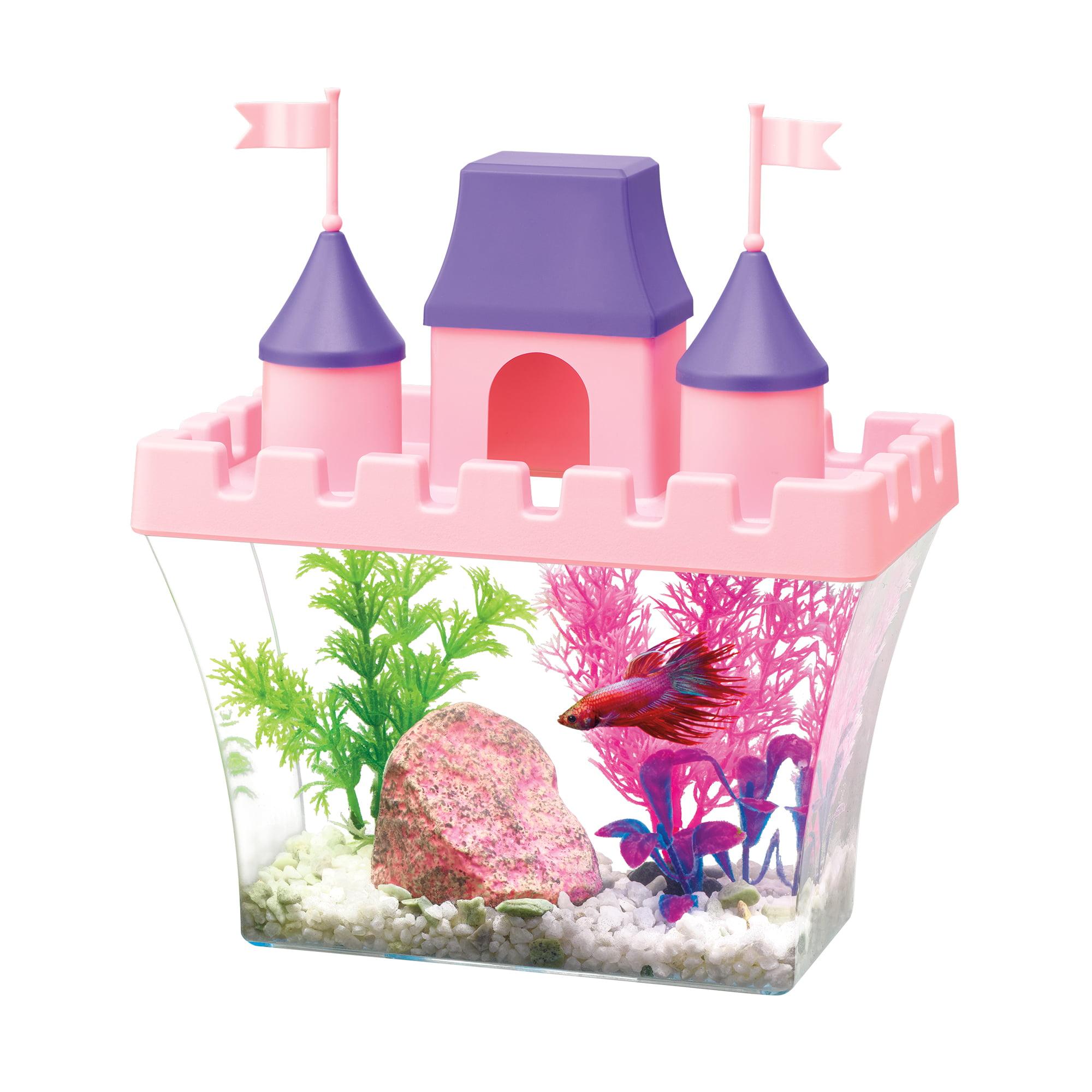 Aqueon Princess Castle Aquarium Starter Kit by All Glass Aquarium Co. Inc