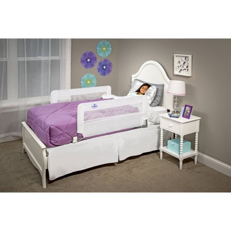 Regalo Double Sided Swing Down Safety Bed Rail, Includes Two Rail's 43-Inch Long and 20-Inch Tall