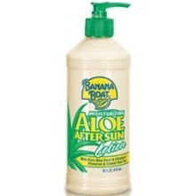 Banana Boat Moisturizing Aloe After Sun Lotion Pump, 16 Fluid Ounce - 12 per (Banana Boat Moisturizing Aloe After Sun Lotion)