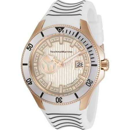 TechnoMarine TM-118016 Cruise 47MM Men's Automatic Grey Silicone Watch - image 1 of 1