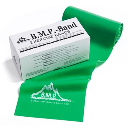 Black Mountain Products TB 6 Yard Green 6 yards Therapy Resistance Band, Green -Medium